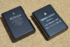 D5100用 互換バッテリー