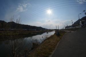 魚眼レンズ 太陽