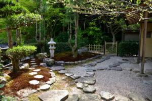 植物園 和心庵 庭