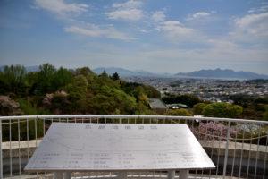 植物園 広島湾 展望図