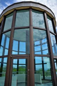植物園 展望台 ガラス