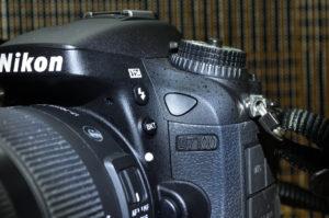 D7100 リモコン受光部 前面