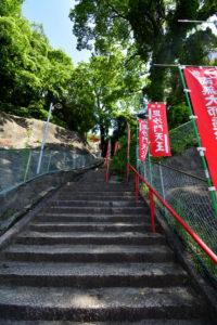 日浦山 登山 階段