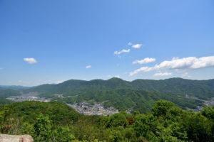 日浦山 頂上 新幹線