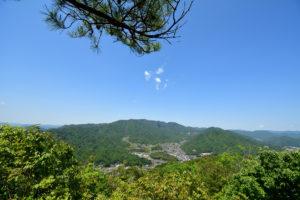 日浦山 頂上 畑賀方面