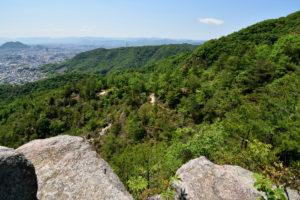 日浦山 Aルート 上から