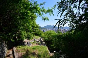 日浦山 下山