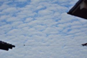 ひつじ雲 105mm f/2.8