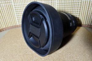 SIGMA 105mm ラバーフード レンズキャップ
