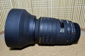 SIGMA 105mm ラバーフード 装着