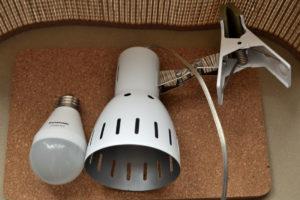 クリップライト LED電球