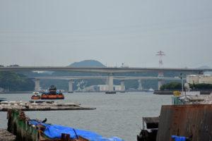 海田大橋 先端から